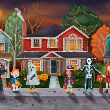 halloween decoration ideas for your new custom home, hagen homes, kenosha custom home builder