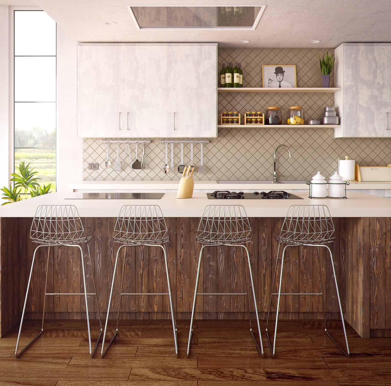 how to make a custom kitchen more inviting, hagen homes, custom home builder