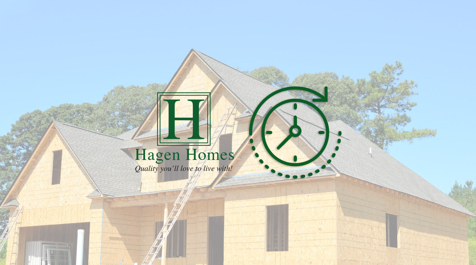 how long does it take to build, hagen homes, build a home in kenosha county