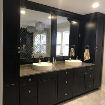 custom home builder, hagen homes, custom bathroom
